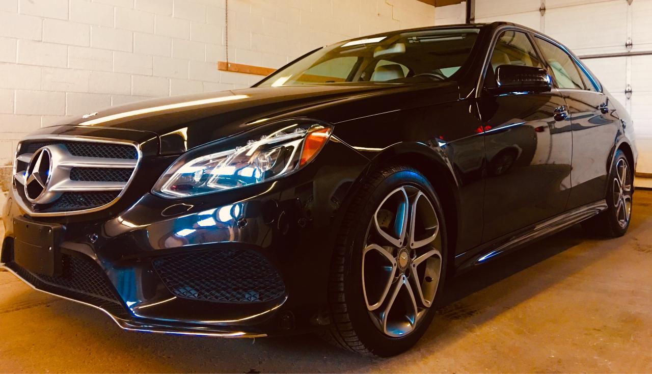 Photo of NIGHT BLACK 2014 Mercedes-Benz E-Class