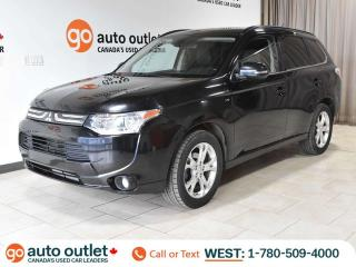 Used 2014 Mitsubishi Outlander GT 4WD, Leather Heated Seats, Backup Camera, Sunroof for sale in Edmonton, AB