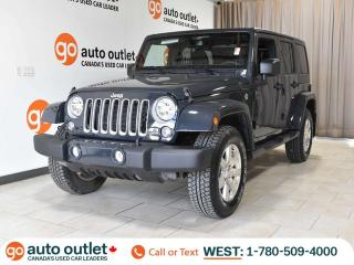 Used 2018 Jeep Wrangler JK Unlimited Unlimited Sahara, 4x4, Auto, Navigation for sale in Edmonton, AB