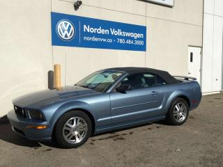 Used 2006 Ford Mustang GT CONVERTIBLE - 300HP V8! for sale in Edmonton, AB