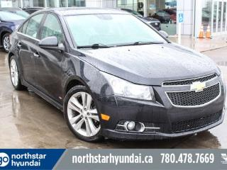 Used 2013 Chevrolet Cruze LTZ TURBO LEATHER/ROOF/BACKUPCAM for sale in Edmonton, AB