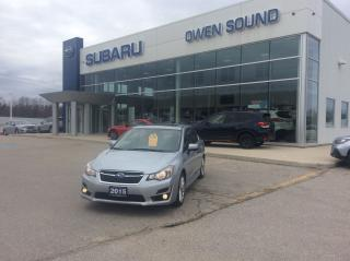 Used 2015 Subaru Impreza 2.0i Sport Package for sale in Owen Sound, ON