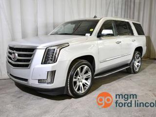 Used 2015 Cadillac Escalade LUXURY | 8-PASSENGER | MOONROOF | HEATED STEERING WHEEL | HEATED FRONT SEATS | NAVIGATION | ONSTAR | HOMELINK | BOSE SOUND for sale in Red Deer, AB