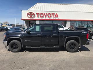 Used 2015 GMC Sierra 1500 CREWMAX , auto 4x4 V8 custom wheels for sale in Cambridge, ON