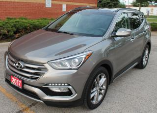 Used 2017 Hyundai Santa Fe LIMITED for sale in Concord, ON
