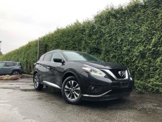 Used 2017 Nissan Murano SV 4dr AWD + HEATED FT SEATS + NAV + DUAL PANE SUNROOF + BACK-UP CAMERA for sale in Surrey, BC