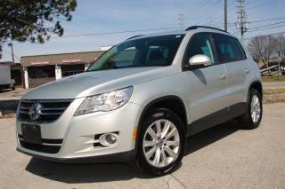 Used 2009 Volkswagen Tiguan COMFORTLINE for sale in Mississauga, ON
