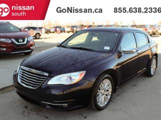 Used 2011 Chrysler 200 LIMITED WITH NAVIGATION LEATHER AND SUNROOF !! for sale in Edmonton, AB