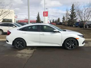 New 2019 Honda Civic Sedan Sport Heated Seats Back Up Cam for sale in Red Deer, AB