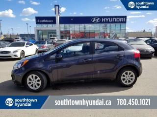 Used 2014 Kia Rio LX GDI/POWER OPTIONS/BLUETHOOTH/HEATED SEATS for sale in Edmonton, AB