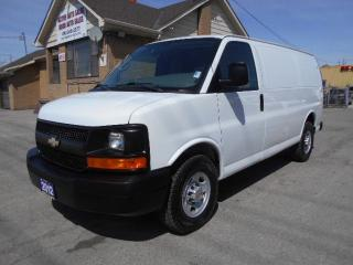 Used 2012 Chevrolet Express 2500 2500HD Cargo 4.8L Loaded Divider Shelves Certified for sale in Etobicoke, ON