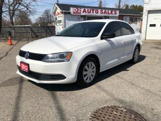 Used 2012 Volkswagen Jetta Certified/Automatic/Accident Free/Gas Saver for sale in Scarborough, ON