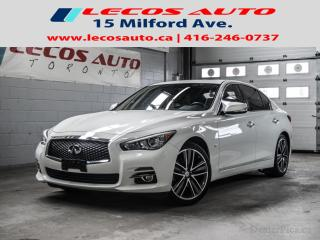 Used 2015 Infiniti Q50 Premium for sale in North York, ON