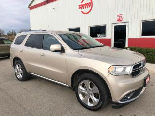 Used 2015 Dodge Durango Limited for sale in Tillsonburg, ON