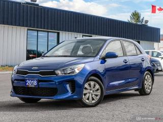 Used 2018 Kia Rio LX+,HEATED SEATS+S/WHEEL,R/V CAM,B.TOOTH for sale in Barrie, ON