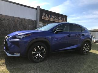 Used 2015 Lexus NX 200T.AWD.Fsport.NAVI.REAR VIEW CAMERA.BLIS. for sale in North York, ON