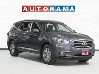 Used 2015 Infiniti QX60 NAVIGATION LEATHER PANORAMIC SUNROOF 7 PASS AWD for sale in Toronto, ON