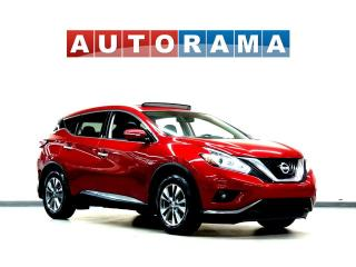 Used 2015 Nissan Murano SV NAVIGATION AWD SUNROOF BACKUP CAMERA for sale in Toronto, ON