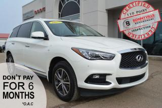 Used 2017 Infiniti QX60 - LEATHER, SUNROOF, NAVIGATION, BACK UP CAMERA for sale in Bonnyville, AB