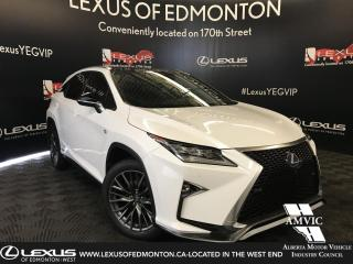Used 2016 Lexus RX 450h F SPORT SERIES 3 for sale in Edmonton, AB