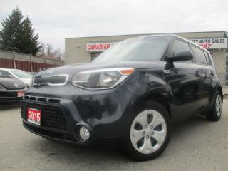 Used 2015 Kia Soul AUTO-BACK UP CAMERA-BLUETOOTH-A/C-ALL POWER OPTION for sale in Scarborough, ON
