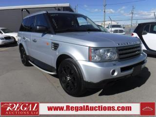 Used 2007 LANDROVER RANGE ROVER SPORT HSE 4D UTILITY 4WD for sale in Calgary, AB