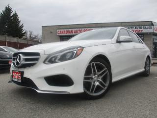 Used 2015 Mercedes-Benz E-Class 4MATIC-NAV-PANO-ROOF-CAM-BLIND SPOT-LOADED-DIESEL for sale in Scarborough, ON