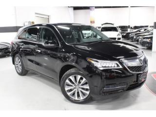 Used 2016 Acura MDX SH AWD   FULLY LOADED   WARRANTY for sale in Vaughan, ON