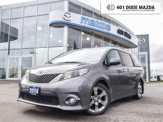 Used 2014 Toyota Sienna SE 8 Passenger|NO ACCIDENTS|ONE OWNER for sale in Mississauga, ON