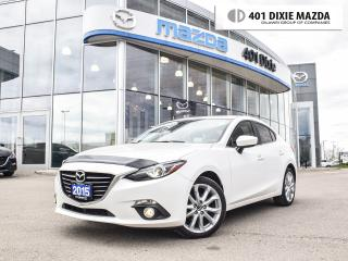Used 2015 Mazda MAZDA3 GT|NO ACCIDENTS|ONE OWNER|1.9% FINANCING AVAILABLE for sale in Mississauga, ON