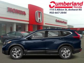 New 2019 Honda CR-V EX-L AWD  - Sunroof -  Leather Seats for sale in Amherst, NS