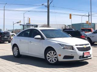 Used 2011 Chevrolet Cruze LT Turbo for sale in Mississauga, ON