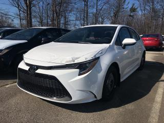 New 2020 Toyota Corolla L for sale in Burlington, ON