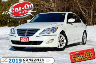 Used 2013 Hyundai Genesis 3.8 LEATHER SUNROOF HTD SEATS LOADED for sale in Ottawa, ON