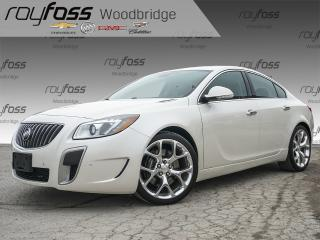Used 2013 Buick Regal GS NAV, SUNROOF, BREMBO, ALLOYS for sale in Woodbridge, ON