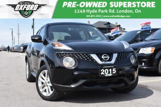 Used 2015 Nissan Juke SV - Low Mileage, One Owner for sale in London, ON