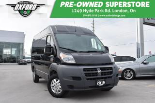Used 2016 RAM 2500 ProMaster High Roof - One Owner, Cargo Divider for sale in London, ON