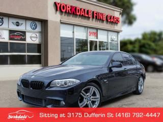 Used 2012 BMW 550i xDrive M SPORT HEAD UP DISPLAY NAVI LEATHER SUNROOF BACK UP CAM AWD for sale in Toronto, ON
