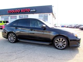 Used 2010 Subaru Impreza WRX WRX SEDAN 5 SPEED MANUAL AWD CERTIFIED for sale in Milton, ON