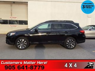 Used 2016 Subaru Outback 2.5i Limited  AWD NAV LEATH ROOF P/GATE for sale in St. Catharines, ON