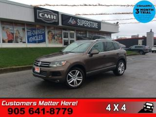 Used 2012 Volkswagen Touareg Execline  DYNAUDIO 4X-HS HTD-S/W NAV ROOF for sale in St. Catharines, ON