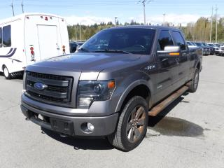 Used 2013 Ford F-150 FX4 SuperCrew 5.5-ft. Bed 4WD for sale in Burnaby, BC
