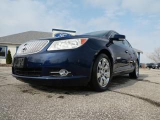Used 2011 Buick LaCrosse CXL- LEATHER INTERIOR- REMOTE START- V6- LOW KM for sale in Essex, ON