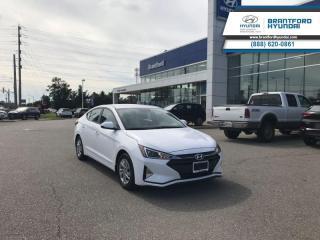 New 2019 Hyundai Elantra Essential MT  -  Bluetooth - $107.30 B/W for sale in Brantford, ON