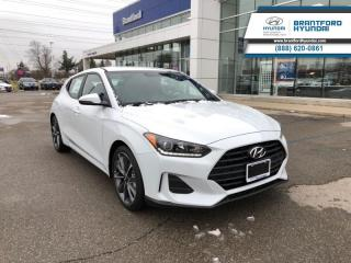 New 2019 Hyundai Veloster Turbo Auto  - Sunroof -  Heated Seats - $160.60 B/W for sale in Brantford, ON