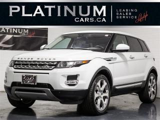 Used 2015 Land Rover Evoque PRESTIGE, NAVI, PANO, Heated Cooled Seats for sale in Toronto, ON