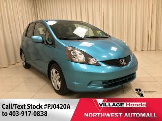 Used 2014 Honda Fit LX for sale in Calgary, AB