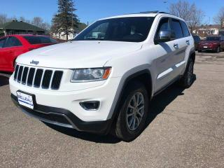 Used 2014 Jeep Grand Cherokee LIMITED*Toit OUVRANT-CUIR! for sale in Québec, QC