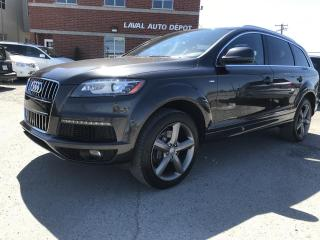 Used 2015 Audi Q7 3.0L TDI Vorsprung Edition quattro 4 por for sale in Laval, QC