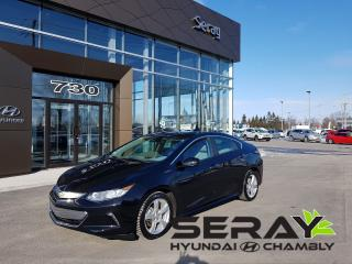 Used 2016 Chevrolet Volt Lt, Cuir, Camera De for sale in Chambly, QC